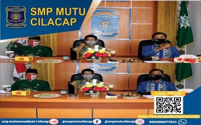 Webinar Pembinaan Guru dan Karyawan Perguruan Muhammadiyah Kabupaten Cilacap